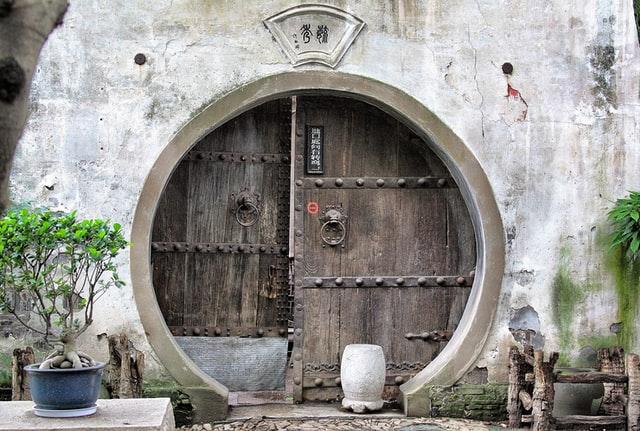 Round door Feng Shui