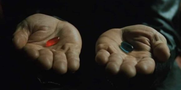 Blue Pill red pill astrology