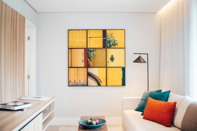 Feng Shui yellow squares